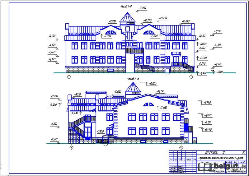 Диплом Строительство детского сада на мест Диплом Строительство детского сада на 40 мест Данный дипломный проект предназначен для студентов колледжей по специальности СиЭЗиС